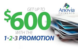 Anovia 1-2-3 Promotion