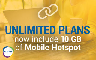 Unlimited Plans Now Include 10 GB of Mobile Hotspot | ACN