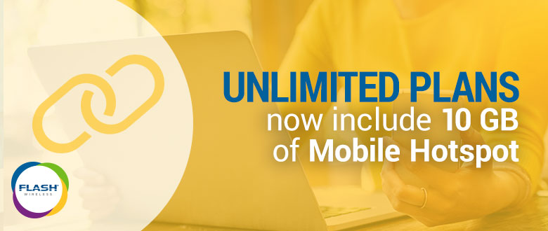 Unlimited Plans Now Include 10 GB of Mobile Hotspot | ACN Compass