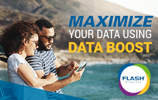 Maximize your Flash Wireless data with Data Boost!