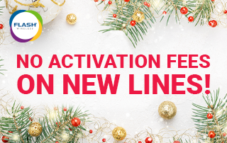 Flash Wireless is Waiving Activation Fees for the Holidays