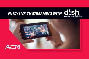 Enjoy Live TV Streaming with DISH anywhere
