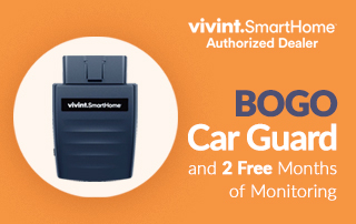 Vivint BOGO Car Guard and 2 free months of monitoring