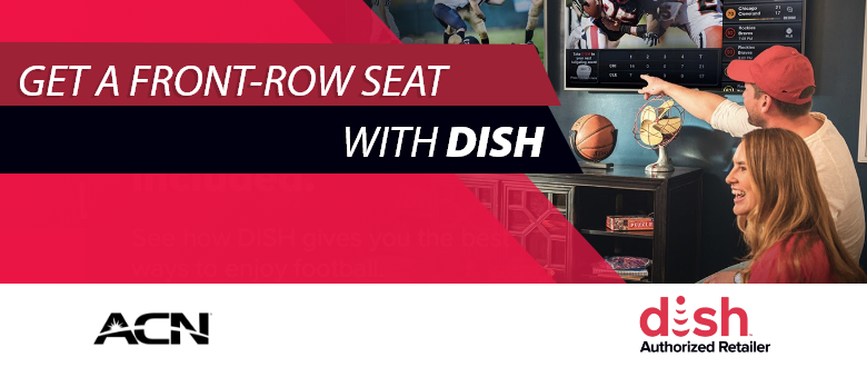 DISH gives you a Better Football and Sports Viewing Experience