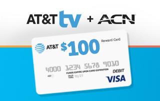 Last Chance: $100 Visa Reward Card for New AT&T TV Customers!