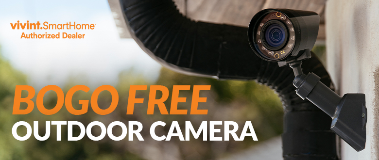Buy One Camera & Get a FREE Outdoor Camera