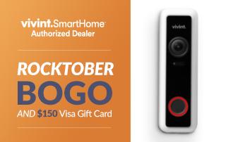 Rocktober BOGO and $150 Visa Gift Card