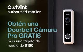 Obtén una Doorbell Cámara Pro GRATIS más una tarjeta de regalo de $150