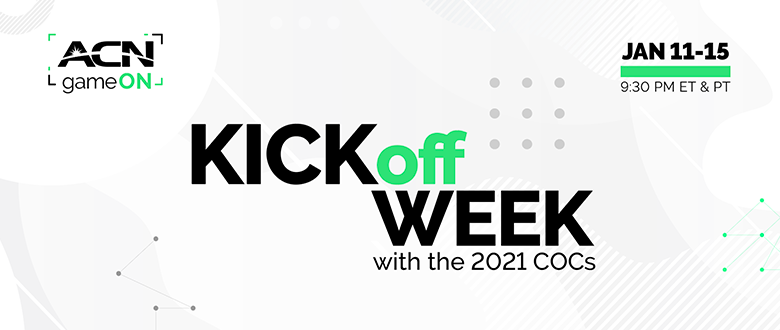 Kick off week!