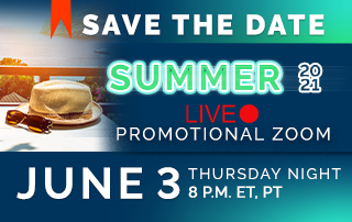Save the date! Live promotional event