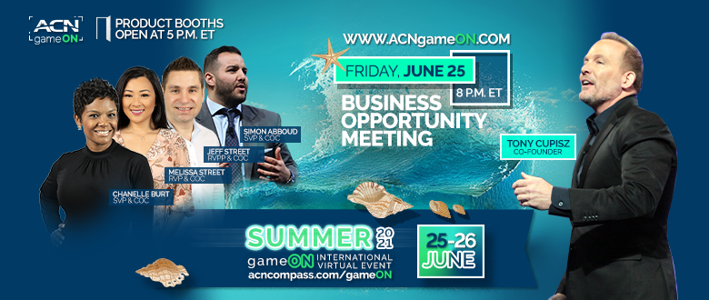 CoC-led Business Opportunity Meeting Kicks Off the Summer 2021 gameON